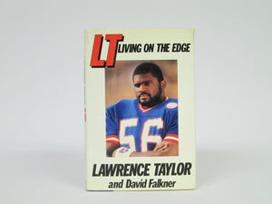LT Living on the Edge by Lawrence Taylor and David Falkner (1987)