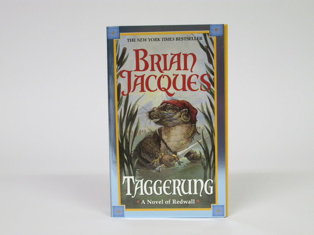 Taggerung A Novel of Redwall by Brian Jacques (2002)