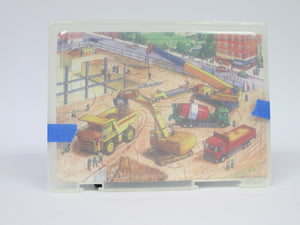 2 Puzzles: Animals and Construction site
