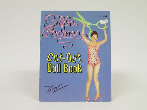 Gilda Radner Cut-Out Paper Doll Book SNL (1979)