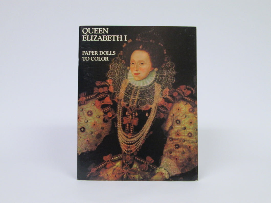 Queen Elizabeth I Paper Dolls to Color