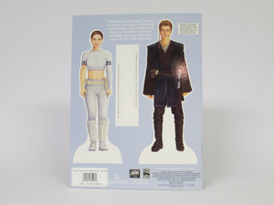 Star Wars Attack of the Clones Padme Amidala Paper Doll Book