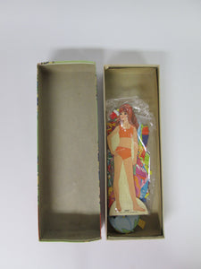 Beautiful Crissy Magic Paper Doll 9 1/2 inch Doll with Stand in Box
