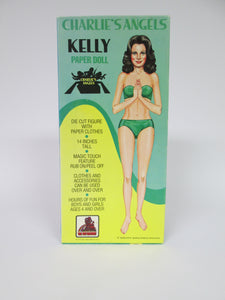 Charlie's Angels Kelly Paper Doll 14 inches Tall in Box