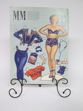 Rambo and Marilyn Monroe Paper Doll Clothes from magazine rare