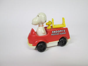 Peanuts Snoopy's Rescue Squad with figure Missing ladder