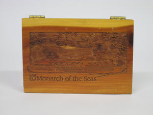 Monarch of the Seas Cedar Box