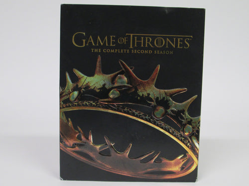 Game of Thrones Complete Second Season DVD Open