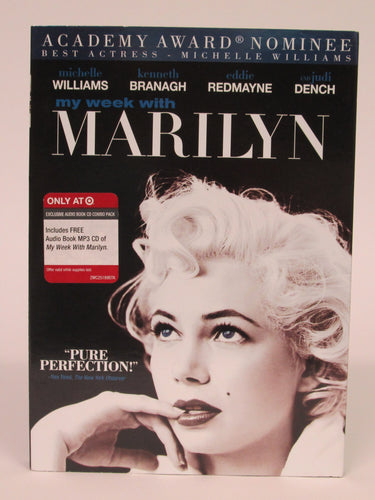 My Week With Marilyn Monroe DVD New
