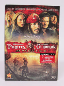 Pirates of the Caribbean At World's End DVD New