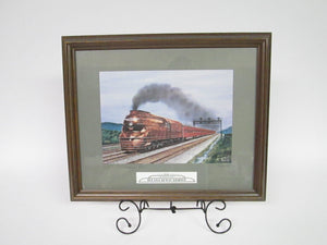 "1936 Pennsylvania The Broadway Limited Framed Print The ""Pennsy"" Broadway Ltd. Signed"