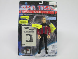 Star Trek Space Talk Series Captain Jean-Luc Picard Action Figure (Playmates)(1995)