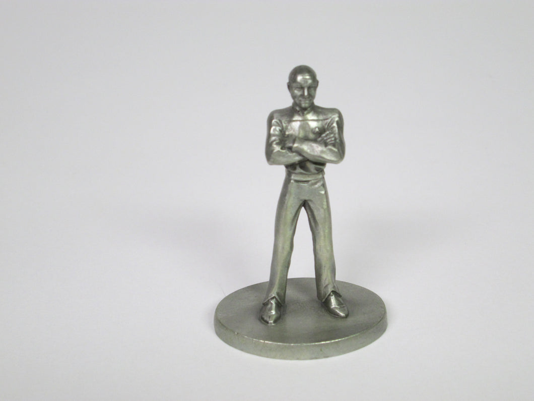 Captain Picard Star Trek The Next Generation Small Pewter Figure (1993)