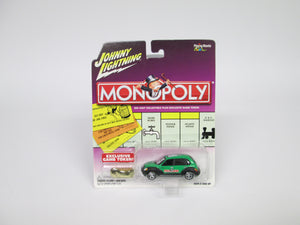 Johnny Lightning Monopoly Release 3 W Exclusive Game Token '01 Chrysler PT Cruiser (2002)