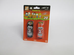 Home Depot Tony Stewart #20 Cars 2 on Pack Peanuts Halloween (Action)