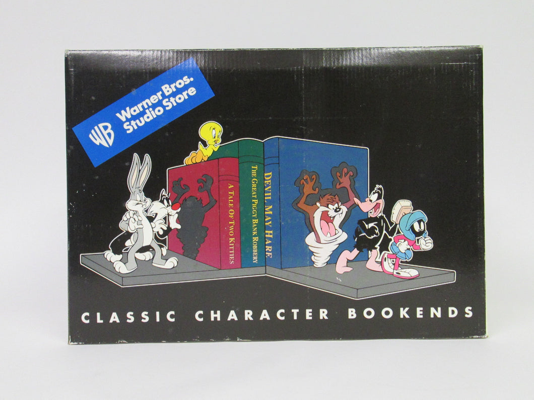 Warner Brothers Studio Store Classic Character Bookends (1998)