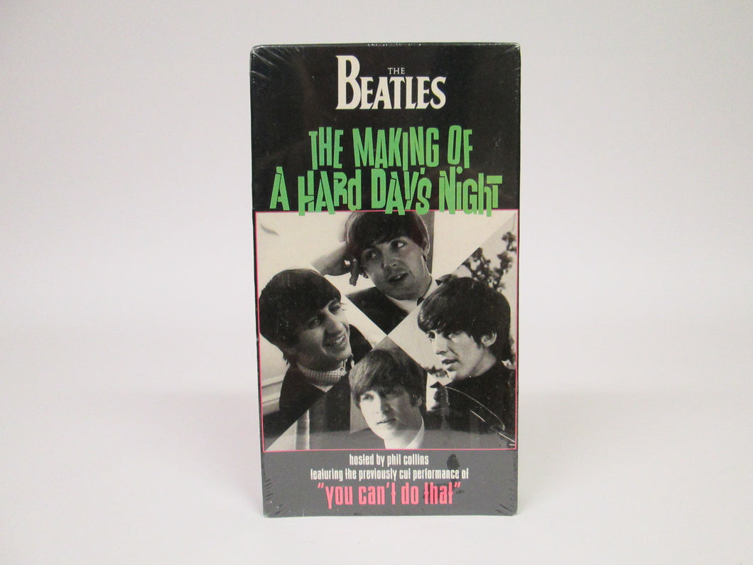 The Beatles The Making of A Hard Day's Night VHS (1994)