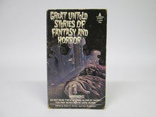 Great Untold Stories of Fantasy and Horror by Alden H. Norton and Sam Moskowitz (1969)