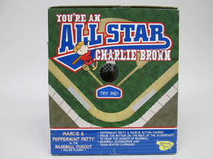Peanuts You're an All Star Charlie Brown Marcie & Peppermint Pattie in the Baseball Dugout