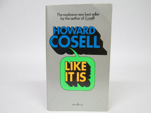 Like It Is by Howard Cosell (1975)