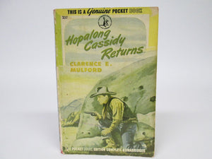 Hopalong Cassidy Returns by Clarence E. Mulford (1946)
