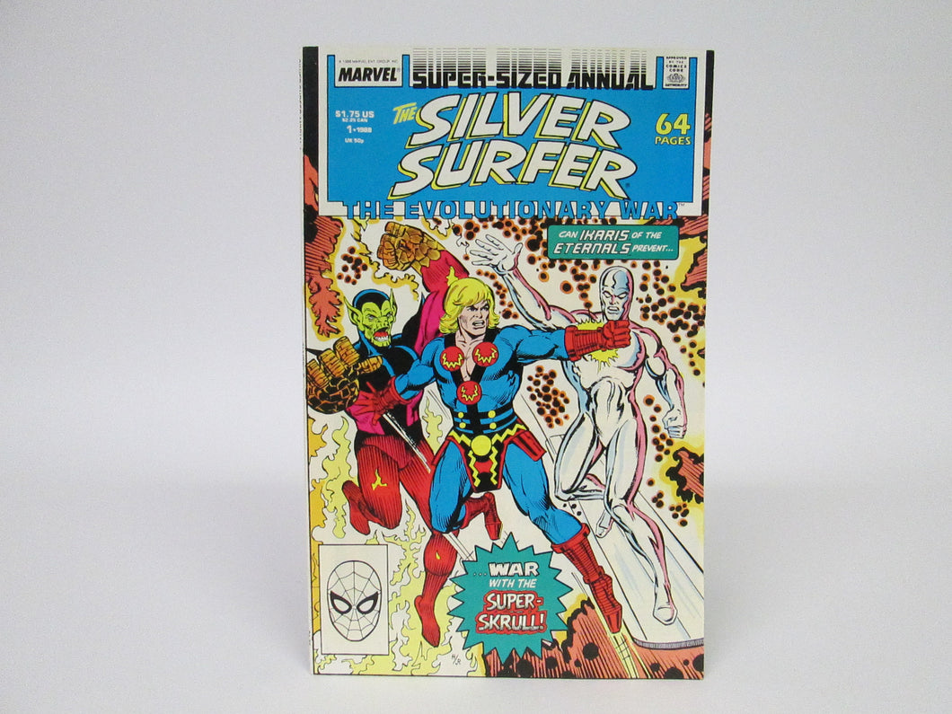 The Silver Surfer The Evolutionary War Super-Sized Annual #1 (1986)
