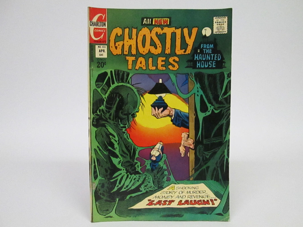 Ghostly Tales from the Haunted House (1973) Charlton Comics