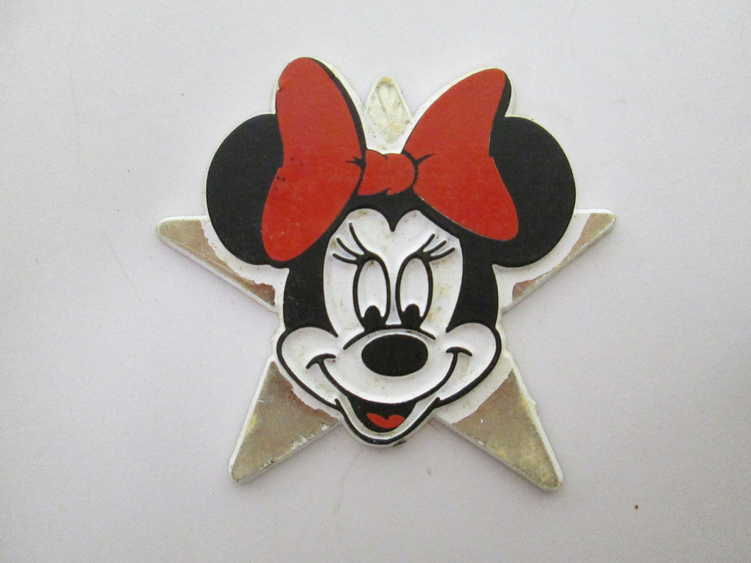 Minnie Mouse Star Magnet and Minnie Mouse Charm
