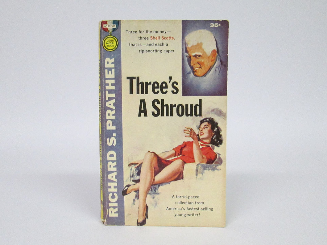 Three's A Shroud by Richard S. Prather (1957)