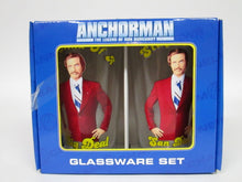 Anchorman The Legend of Ron Burgandy Glassware Set (2013)