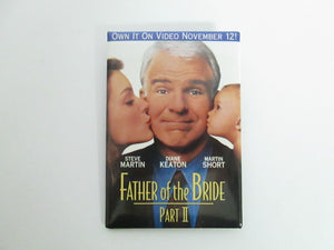 Father of the Bride II Video Button/Pin