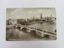 Vintage Post Card Lambeth Bridge London
