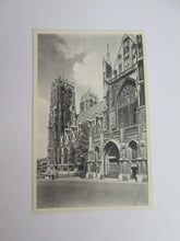Vintage Post Card Brussels Collegiate of S S Michael and Gudule - Outside, Meridional Side