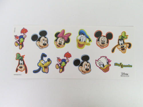 Disney Sticker Set My 4 Movies Disney Movie Club