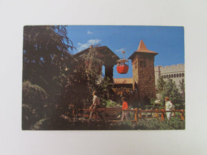 Vintage Disney Post Card 1970s Skyway Over The Magic Kingdom