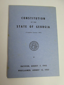 1966 Georgia collection Ben Fortson Secretary of State Rare