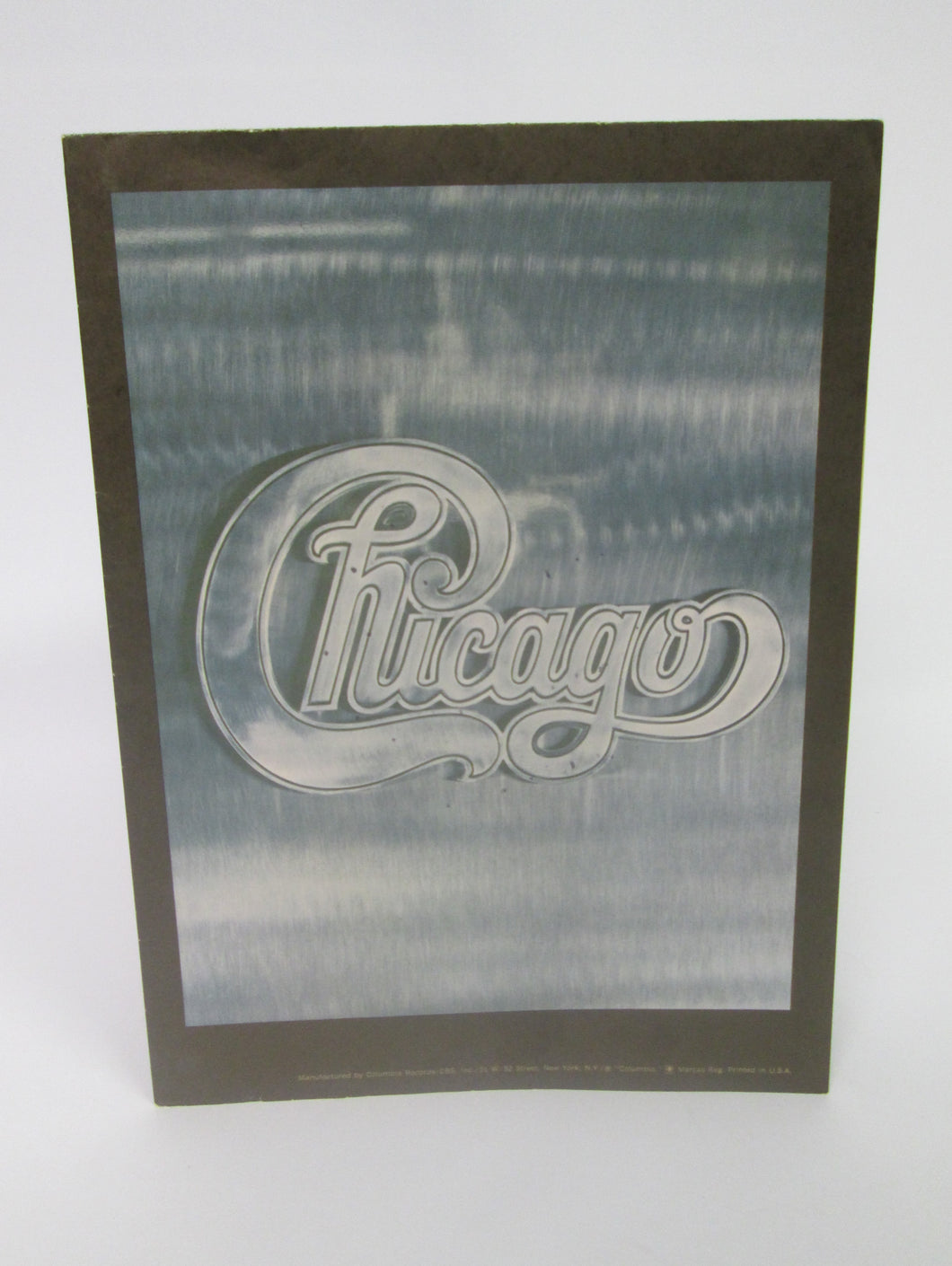 Chicago Music Group Poster from one of their albums