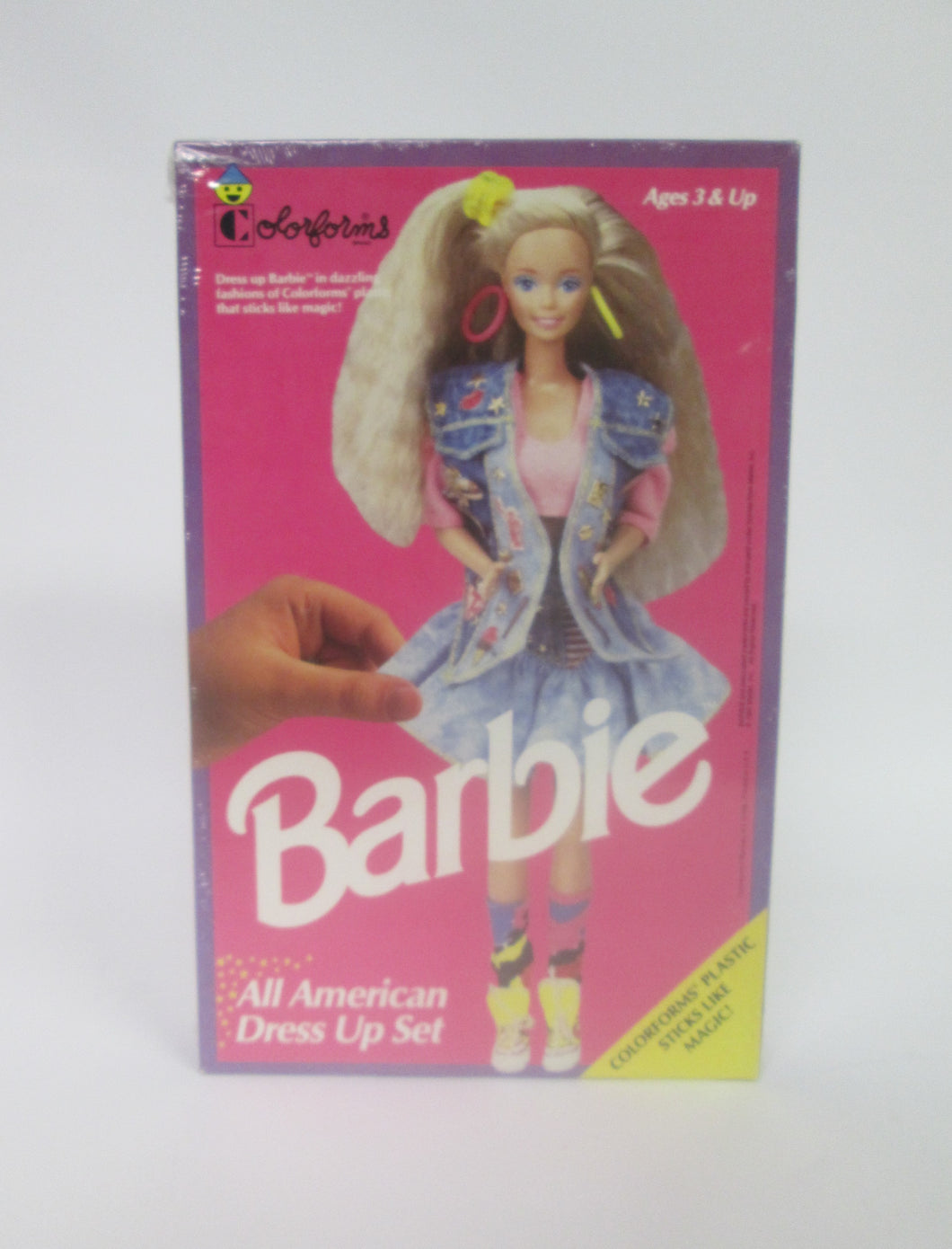 Barbie All American Dress Up Set Colorforms