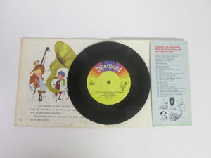 Little Boy With A Big Horn A Little Golden Book and Record #207 33 1/3 RPM (1976)