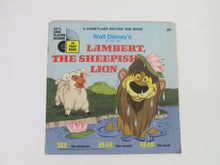Walt Disney's Story of Lambert, The Sheepish Lion A Disneyland Record and Book #351 (1970)