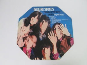 Rolling Stones Through the Past Darkly Big Hits Vol 2 Record Album Octogon Shape (London Studios)