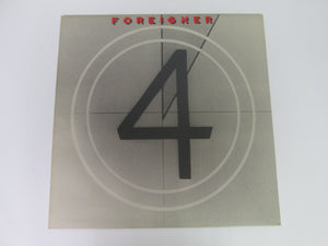 Foreigner 4 Record Album (Atlantic Recording)(1981)