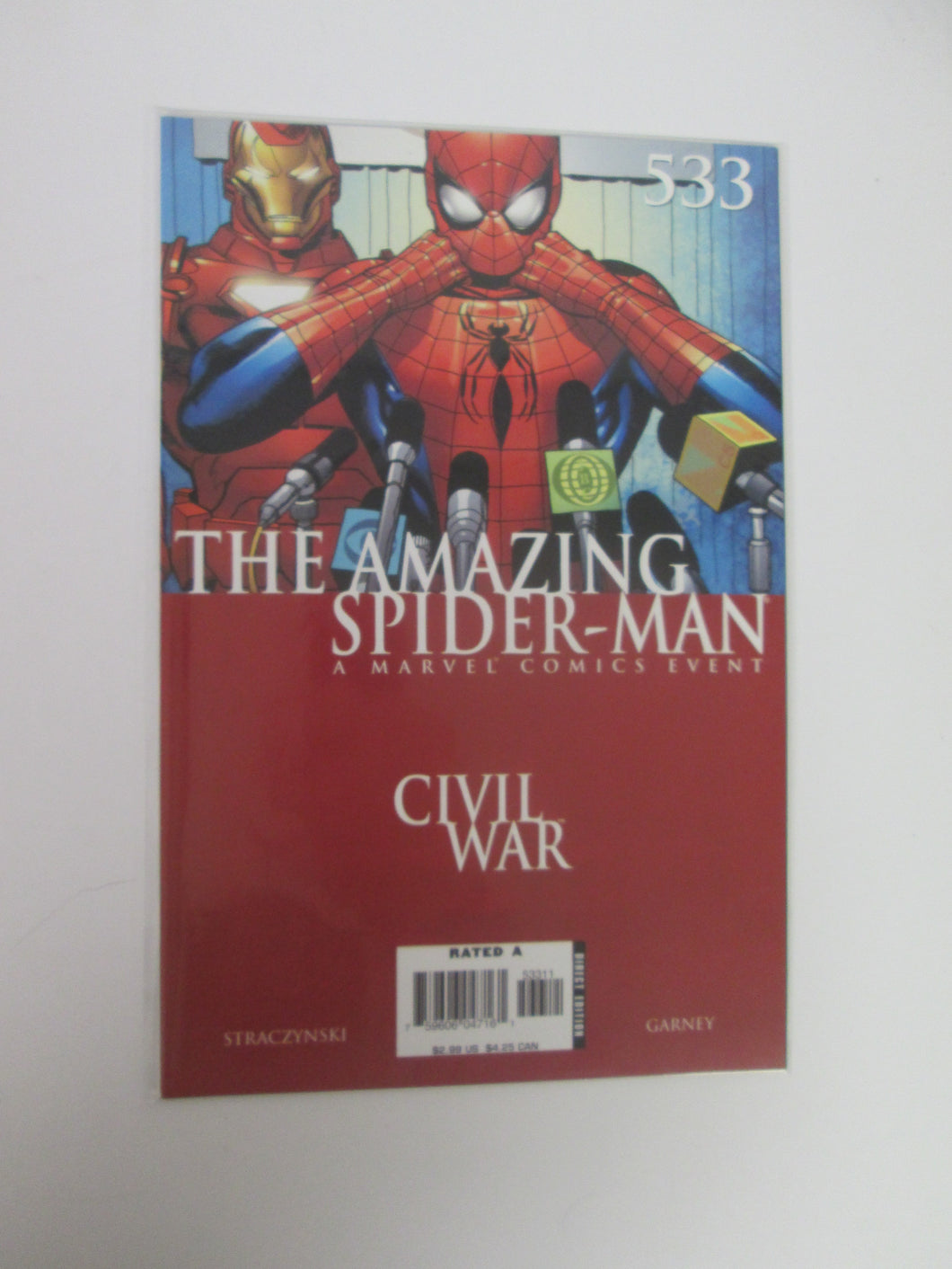 Amazing Spider-Man # 533 (Marvel)
