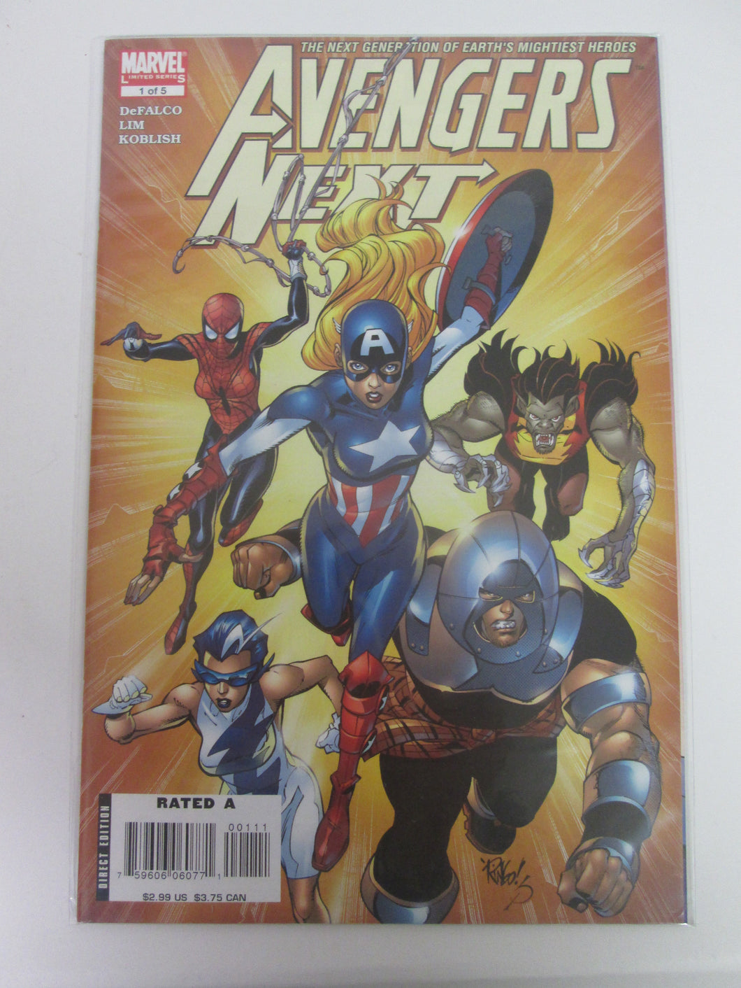 Avengers Next # 1 (Marvel)