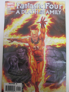 Fantastic Four A Death in the Family One Shot # 1 (Marvel)