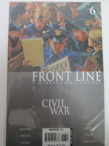 Front Line Civil War # 6 (Marvel)