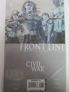 Front Line Civil War # 8 (Marvel)