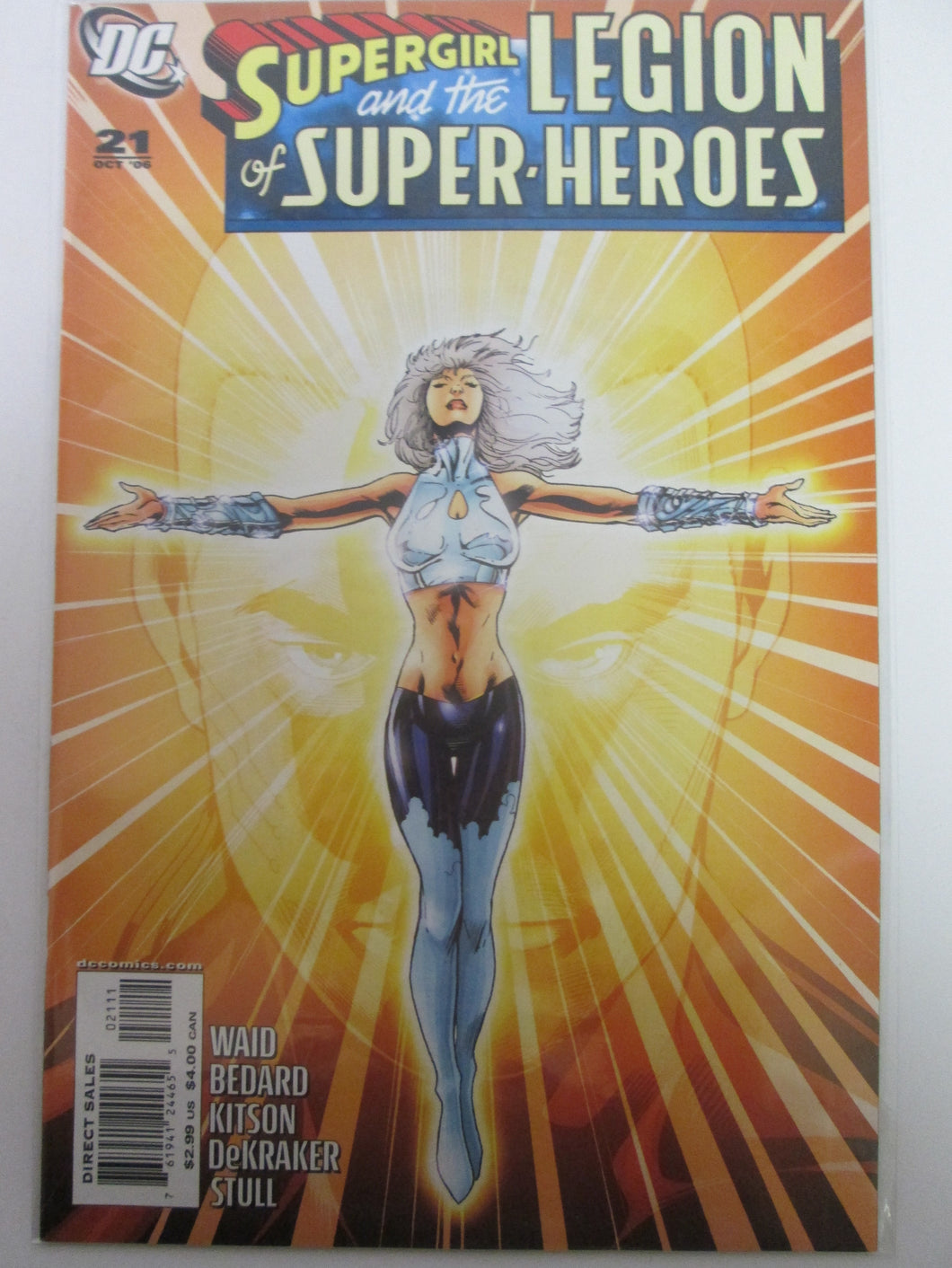 Super-Girl & The Legion of Super-Heroes # 21 (DC)