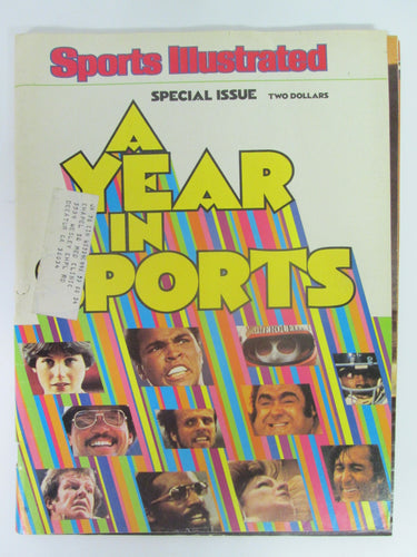 Sports Illustrated Special Issue A Year in Sports (1977)