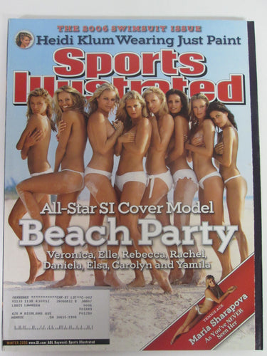 Sports Illustrated Swimsuit Edition Winter 2006